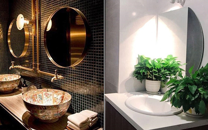 Những chiếc WC xinh đẹp sang chảnh ở tiệm cafe khiến hội chị em Hà thành mê mẩn check in, chỉ mỗi tấm gương cũng
