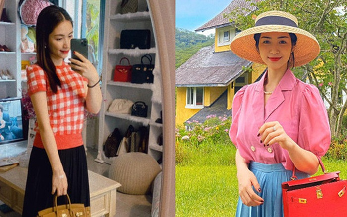 """Mới năm ngoái còn thanh lý túi hiệu để làm MV, năm nay Hòa Minzy đã sắm hẳn 3 túi Hermès và loạt """"bé iu"""" đắt tiền khác"""