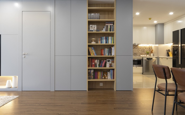 Căn hộ 96m² tối ưu hóa công năng dành cho vợ chồng trẻ