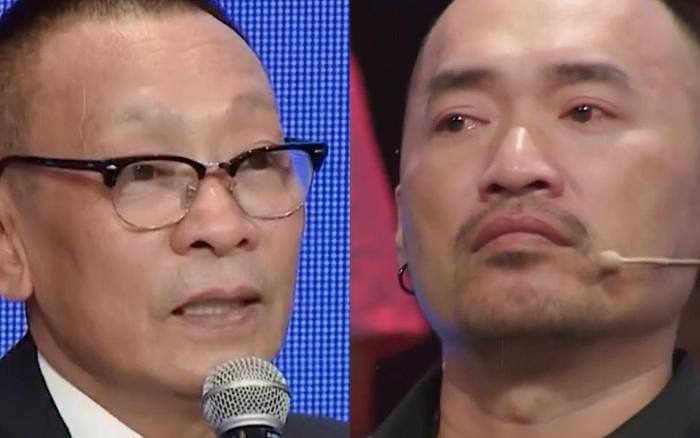 Ký ức vui vẻ: Lại Văn Sâm nghẹn ngào khi xem clip của Chí Tài, Tiến Luật bật khóc trên sóng truyền hình