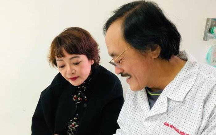 Nghệ sĩ Giang Còi nhập viện, nghi có khối u ở họng