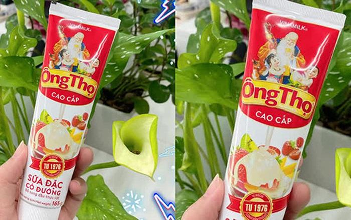 Xôn xao hình ảnh sữa đặc Ông Thọ trong thiết kế mới: Nhìn như tuýp kem đánh răng, được người tiêu dùng hưởng ứng vì tiện lợi?