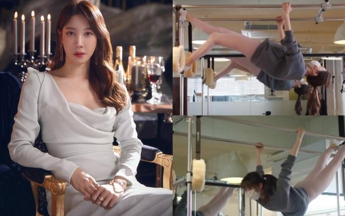 """""""Chị đại Penthouse"""" Lee Ji Ah đã 42 tuổi mà dáng vẫn đẹp nuột nà, bí kíp nhờ vào bộ môn giữ dáng đỉnh cao sao Hàn nào cũng mê"""