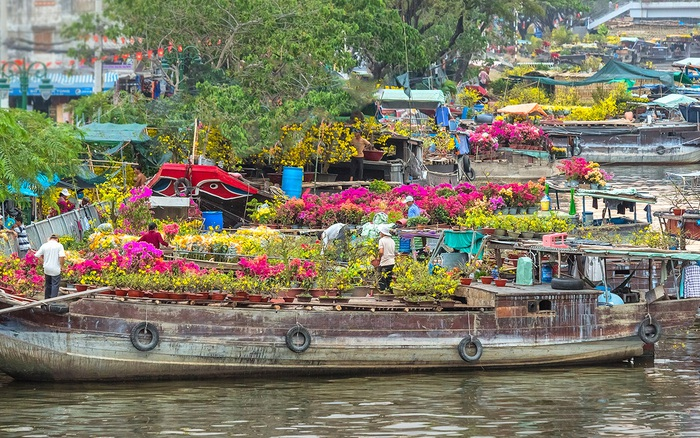 Những phiên chợ chỉ họp một lần duy nhất vào trước Tết ở Sài Gòn