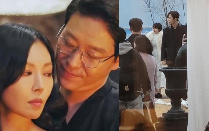 Cuộc chiến thượng lưu: Lộ cảnh quay phần 2, Seo Jin làm đám cưới với Ju Dan Tae, còn mời cả chồng cũ đến dự?