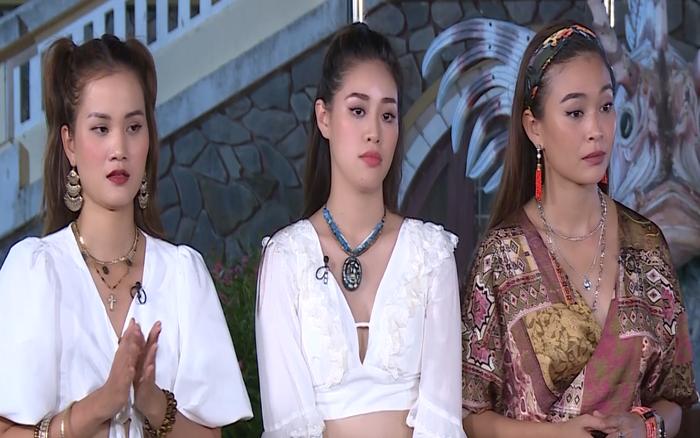 Mâu Thủy - Hương Ly khó chịu vì Hoàng Thùy cãi ngang trên sóng truyền hình