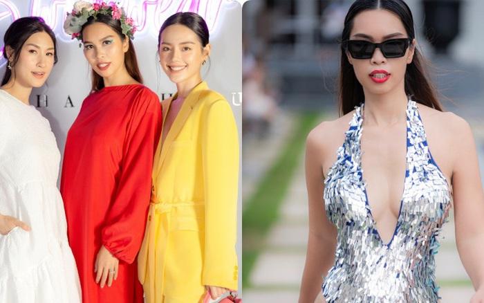 """Vừa """"kín như bưng"""", siêu mẫu Hà Anh đã quay ngoắt 180 độ với bikini cắt khoét hiểm hóc: Mẹ 1 con nóng bỏng nhất Vbiz là đây!"""