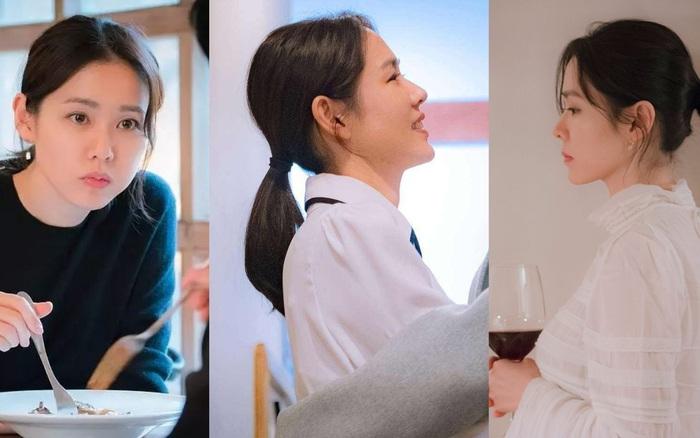 5 kiểu tóc buộc thấp đẹp lịm tim của Son Ye Jin, nàng 30+ áp dụng là quá hợp vì nhìn sang lên vài chân kính