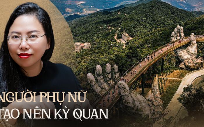 """Ái Thuỷ - nữ kiến trúc sư tạo nên cây Cầu Vàng """"made in Vietnam"""" làm kinh ngạc khắp thế giới và lần đầu nghe kể về ý nghĩa thật sự của đôi bàn tay khổng lồ"""