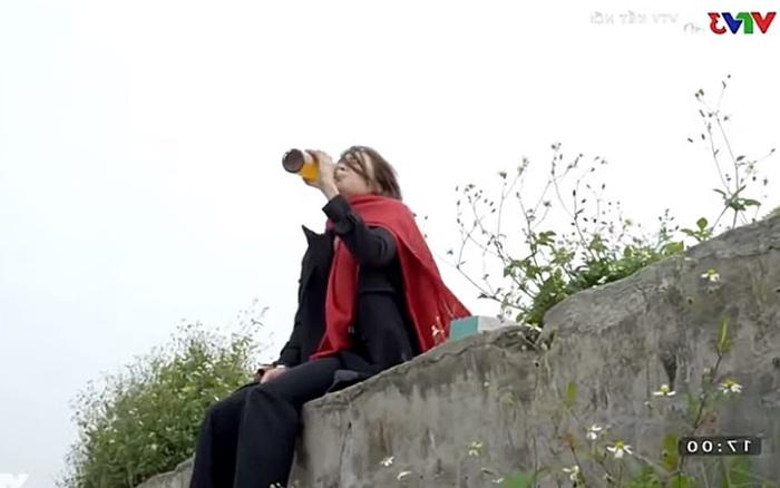 Hướng dương ngược nắng: Châu ra bờ sông uống rượu sau khi đâm Kiên, Minh  gào khóc gọi cấp cứu