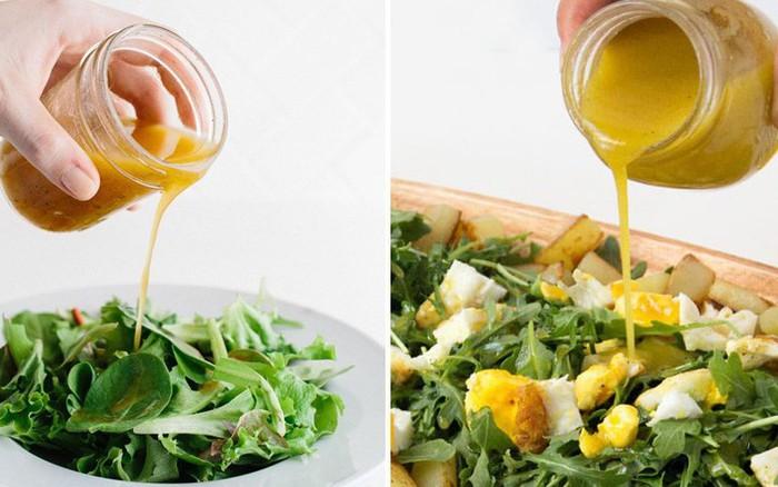 Có 2 công thức làm xốt salad này bạn tha hồ ăn salad cả tuần không chán