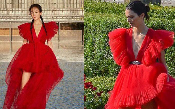 """Dương Mịch """"đụng độ"""" Kendall Jenner: Dáng ai cũng thon, chân ai cũng dài nhưng hơn thua ..."""