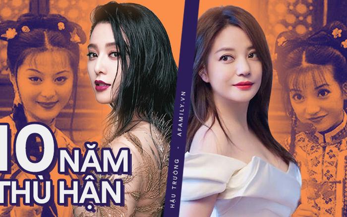 """Ân oán 10 năm của bộ đôi """"Tiểu Yến Tử"""" Triệu Vy và """"Kim Tỏa"""" Phạm ..."""
