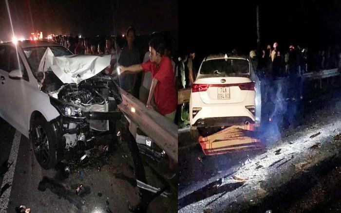 Va chạm giữa ô tô và xe máy, 3 người trong 1 gia đình tử vong