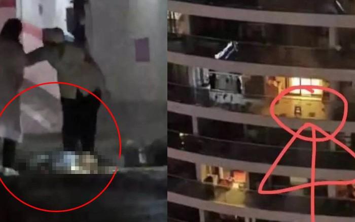 Bé trai 6 tuổi ngã từ tầng 28 tử vong tại chỗ, hình ảnh thi thể nằm giữa bãi đậu xe