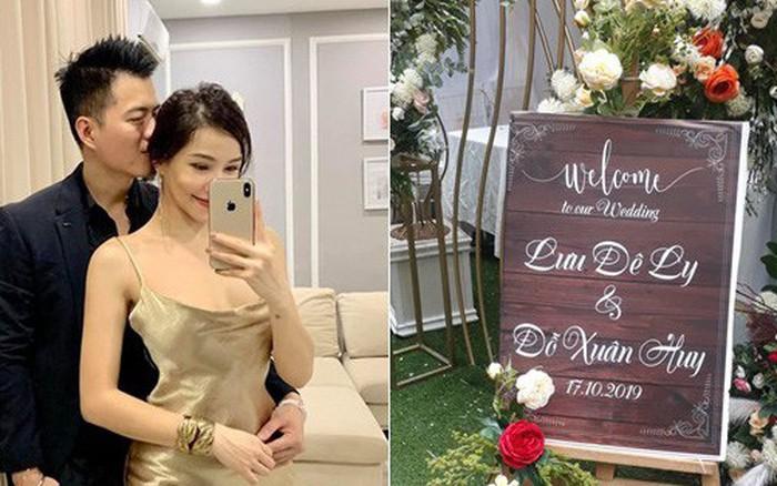 ĐỘC QUYỀN: Lưu Đê Li tổ chức lễ ăn hỏi với DJ Huy DX vào chiều nay, cô dâu chú ...