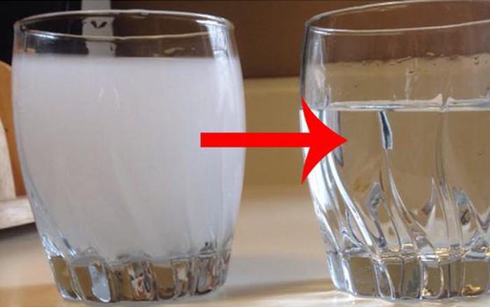 Hãy nhìn những dấu hiệu này của nươc để tự đánh giá xem nguồn nước nhà bạn ... - xs thứ hai