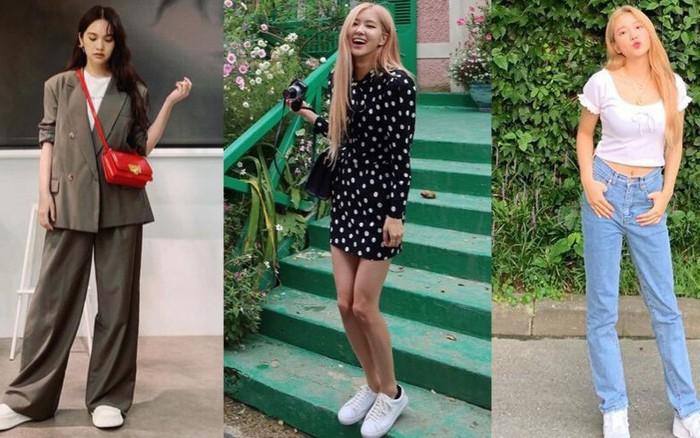 Học 15 cách diện sneakers trắng từ các sao nữ mặc đẹp