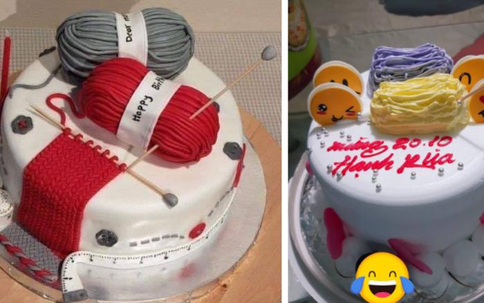 Lấy ảnh trên mạng để đặt bánh sinh nhật y hình và cái kết dở khóc dở cười