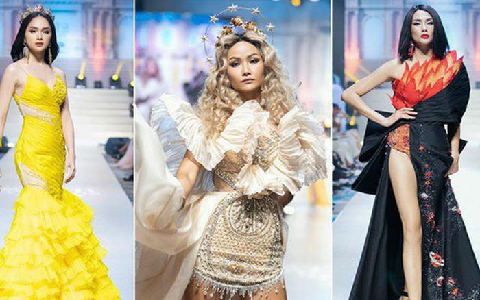 Cùng vào vai nữ thần trên một đường băng, H'Hen Niê - Võ Hoàng Yến - ...