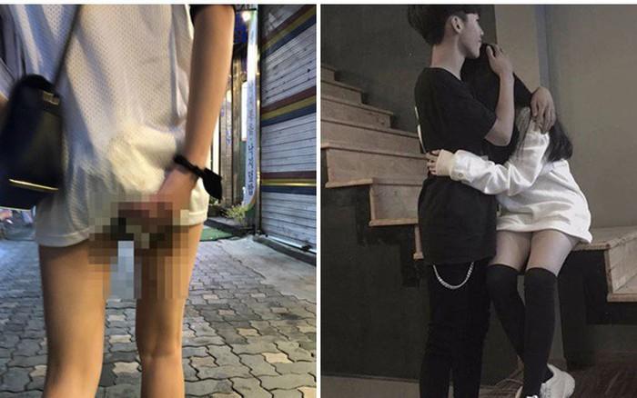 Cô gái gặp phải sự cố đáng xấu hổ giữa nơi công cộng, phản ứng của bạn trai đáng ...