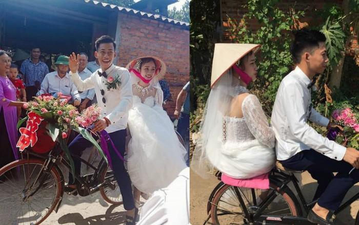 Cứ tưởng nhà hoàn cảnh phải rước dâu bằng xe đạp, người cùng làng tiết lộ ...