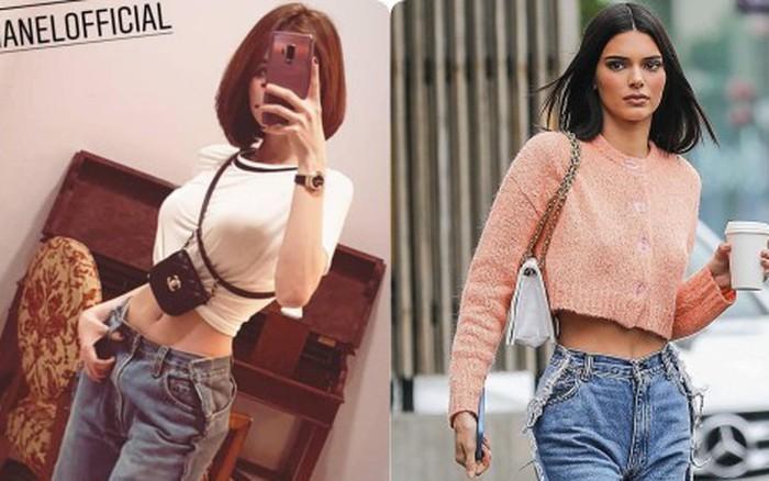 Ngọc Trinh lại đụng hàng với Kendall Jenner