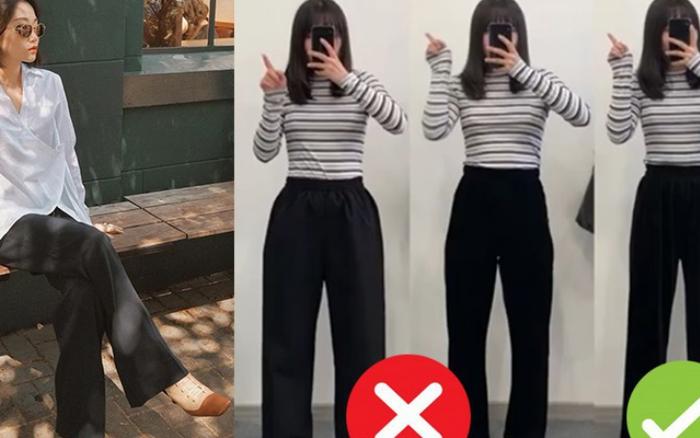 Đại diện các nàng đùi to mặc thử 3 dáng quần dài basic, cô nàng ...