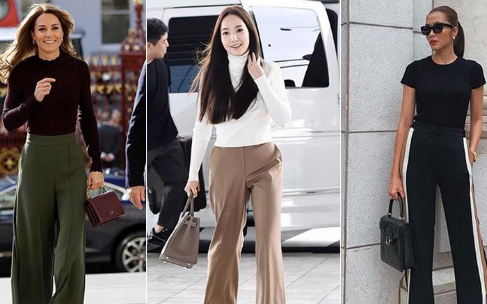 Công thức mix đồ mà Park Min Young, Công nương Kate cho đến Hà Tăng đều yêu ...
