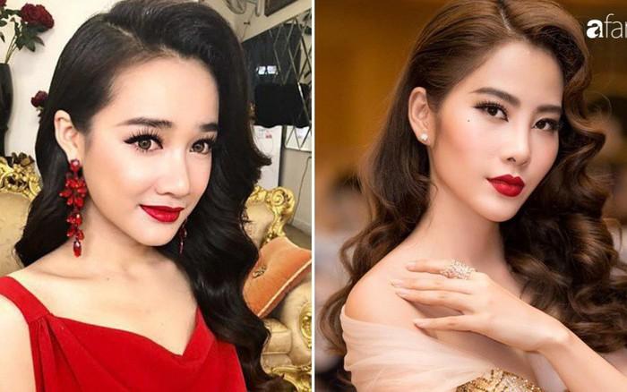 """Nhã Phương và Nam Em từng có không ít màn """"đụng độ"""" style, makeup ..."""