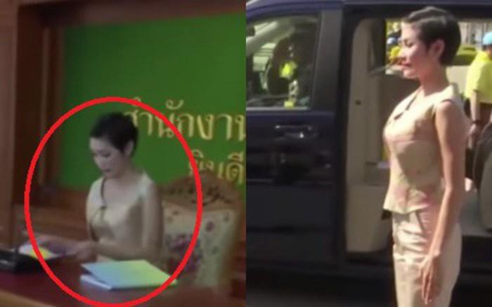 """Hình ảnh cuối cùng của Hoàng quý phi Thái Lan và sự """"biến mất"""" ..."""