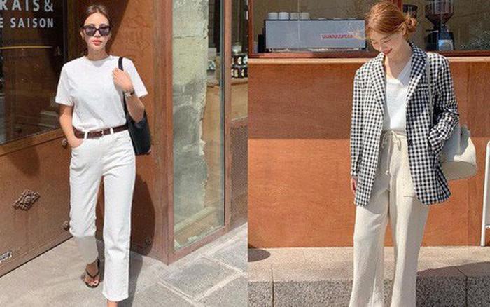 Một chiếc áo phông trắng cũng làm nên outfit xịn sò nếu bạn biết 12 gợi ý ...