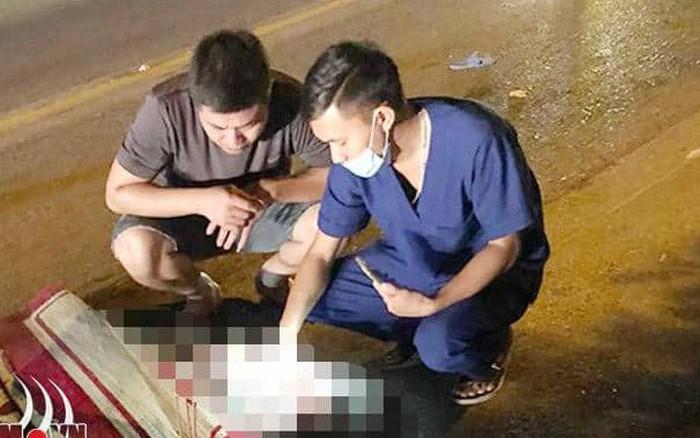 Nam Định: Hai bà cháu tử vong thương tâm khi va chạm với xe khách