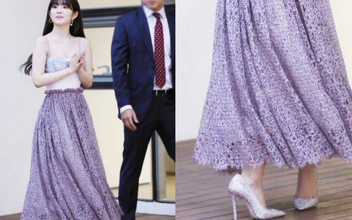 Làm thế nào chân của nữ thần Red Velvet bẻ cong được theo tư thế kia?