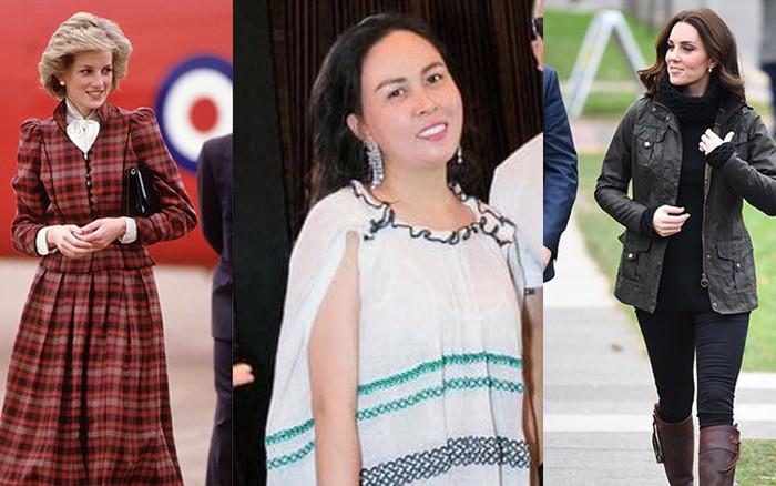Bằng chứng Phượng Chanel đang học theo style của công nương Diana và Kate Middleton