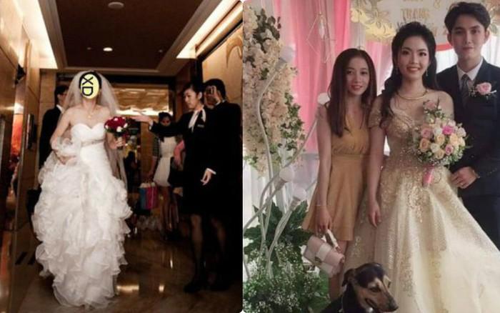 Tấm hình hài nhất đám cưới nhà người ta: Cô dâu lao ra đường, lôi bằng ...