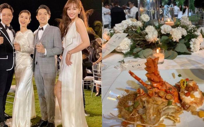 Cái nhìn từ góc độ healthy của menu thực đơn cưới Đông Nhi - Ông Cao Thắng