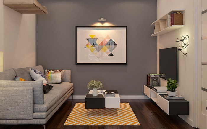 Tư vấn thiết kế căn hộ tập thể 52m2 với chi phí 140 triệu đồng