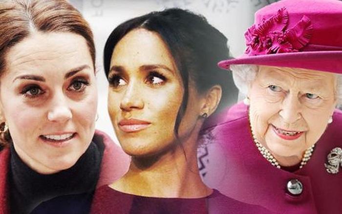 Meghan Markle hắt hủi Nữ hoàng Anh, tránh chạm mặt chị dâu Kate khi không đón ...