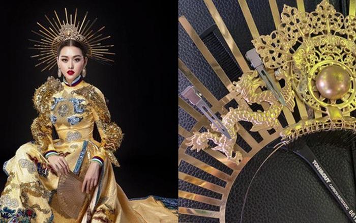 Tường San gặp sự cố với trang phục dân tộc tại Hoa hậu Quốc tế 2019