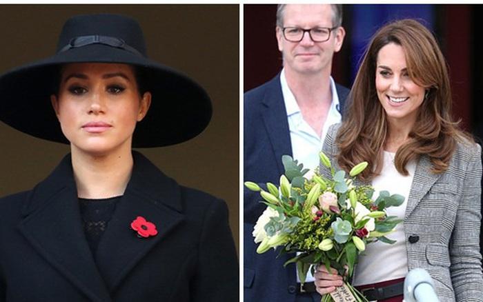 Công nương Kate xuất hiện khác lạ trong sự kiện mới khiến em dâu Meghan Markle mất mặt ...