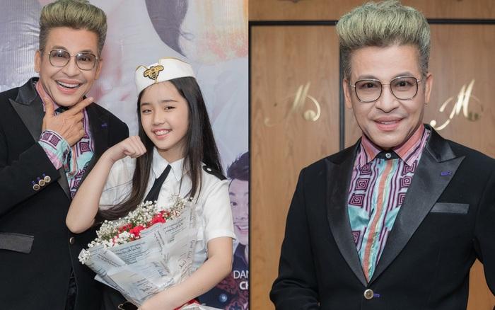Bỏ qua ồn ào với vợ cũ Xuân Hương, Thanh Bạch xuất hiện với tóc vàng nổi nhất ...