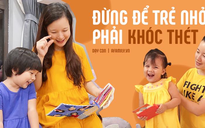 """Hot mom Minh Trang: """"Hãy là những người lớn văn minh khi tiếp xúc với trẻ nhỏ"""""""