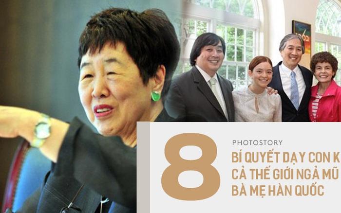 8 lời khuyên của bà mẹ Hàn Quốc nuôi dạy con con thành tiến sĩ tại Đại học ...