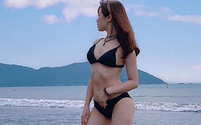 Bạn gái cầu thủ Văn Toàn ngày càng gợi cảm, liên tục tung ảnh bikini khoe 3 ...