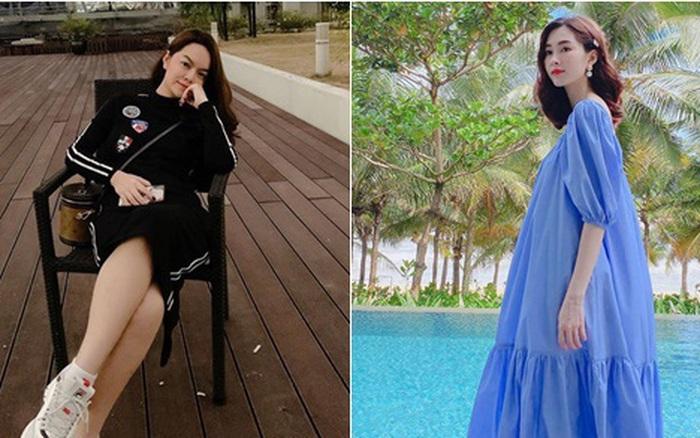 Phạm Quỳnh Anh ăn vận như teen girl, HH Thu Thảo lại diện váy thùng thình cứ như bầu ...