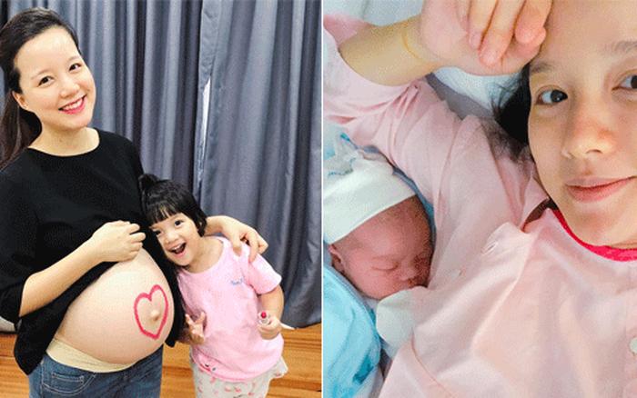 MC Minh Trang hạnh phúc đón con thứ tư chào đời