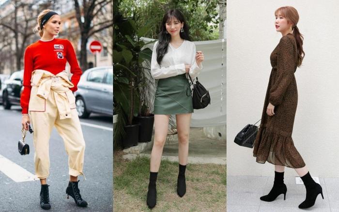 Đông năm nay chỉ cần 2 kiểu boots này là đủ kết hợp với đủ mọi set đồ