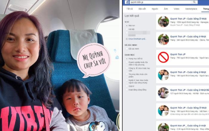Quỳnh Trần JP xuất khẩu thành thơ để nhờ dân mạng report hộ Fanpage giả mạo ...