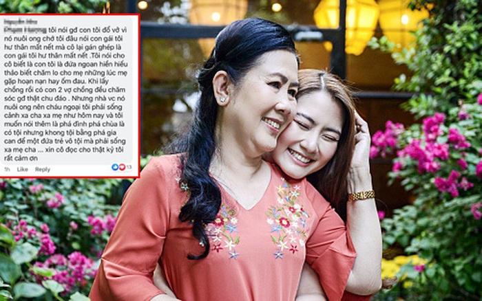 Bị cư dân mạng nói không thương con gái, mẹ Ngọc Lan phản ứng cực ...